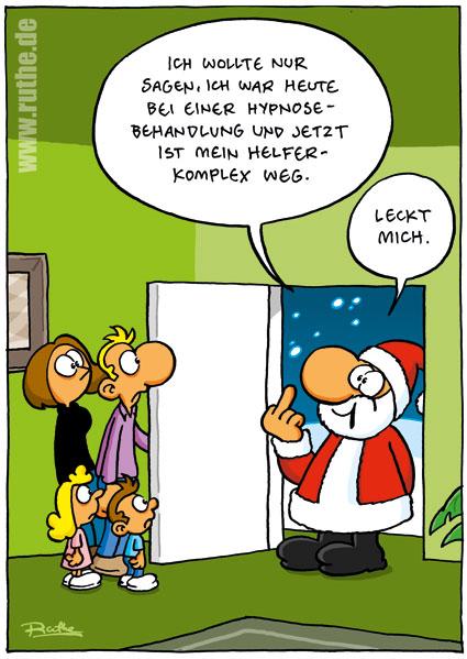 Comic Frohe Weihnachten.Frohe Weihnachten Hypnosetherapie Brocher